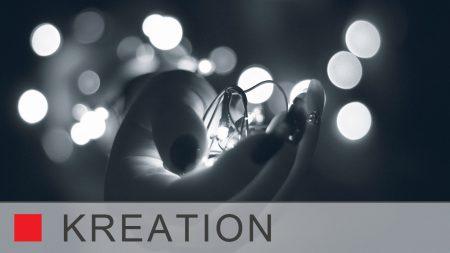 Idee und Gestaltung: Die Kreation