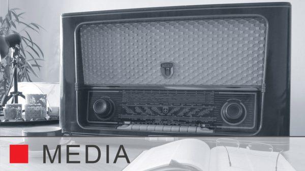 Verschiedene Medien von Web, TV-Sot bis Radiewerbung